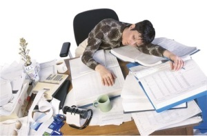 Estrés tras terminar de trabajar