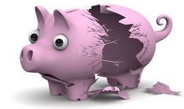 una-hucha-quebrada-del-cerdo